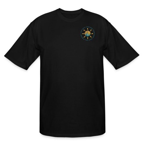 Front and Back Emblem - Womens - Men's Tall T-Shirt