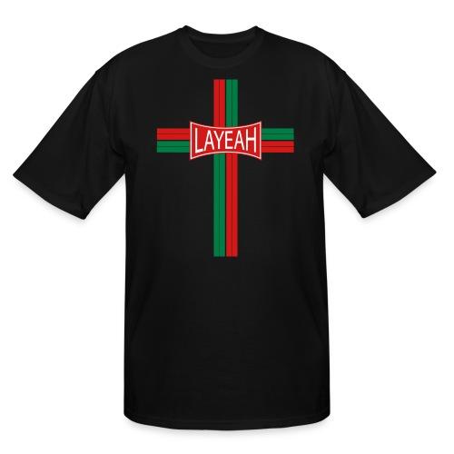 Portugy Cross Three - Men's Tall T-Shirt