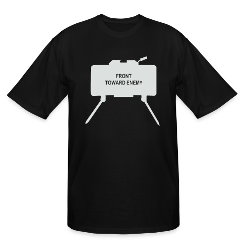 Claymore Mine (Minimalist/Light) - Men's Tall T-Shirt