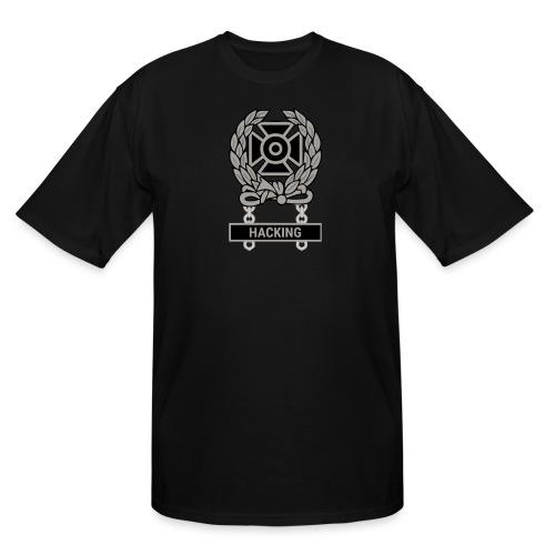 Expert Hacker Qualification Badge - Men's Tall T-Shirt