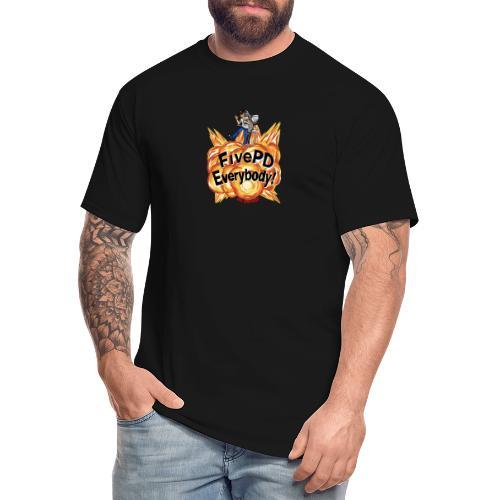 It's FivePD Everybody! - Men's Tall T-Shirt