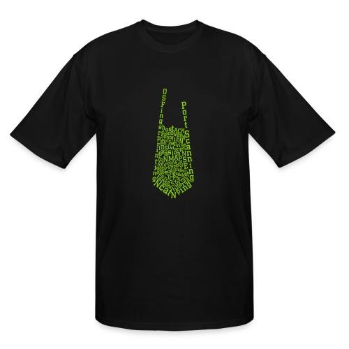 Nmap Tie - Men's Tall T-Shirt