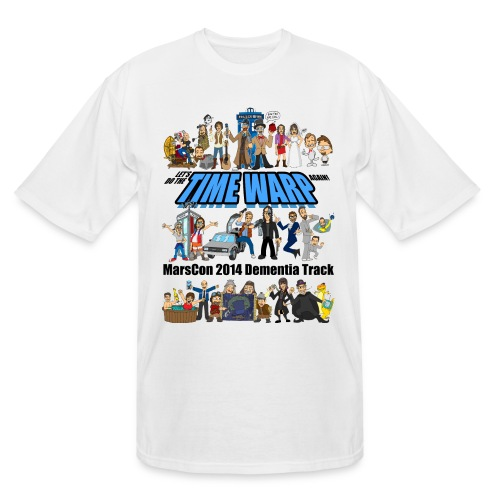 marscon 2014 dementia track tshirt - Men's Tall T-Shirt