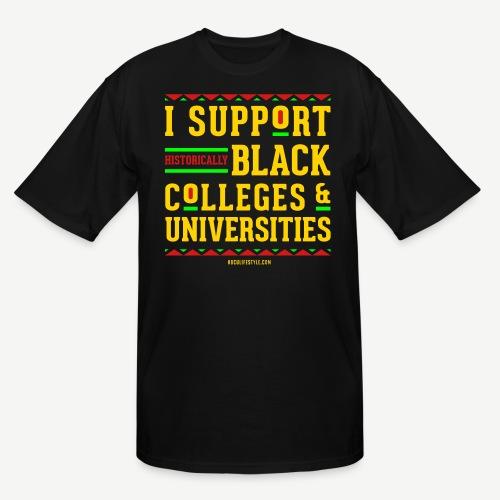 I Support HBCUs - Men's Tall T-Shirt