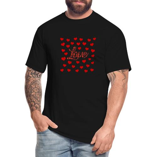 VALENTINES DAY GRAPHIC 3 - Men's Tall T-Shirt