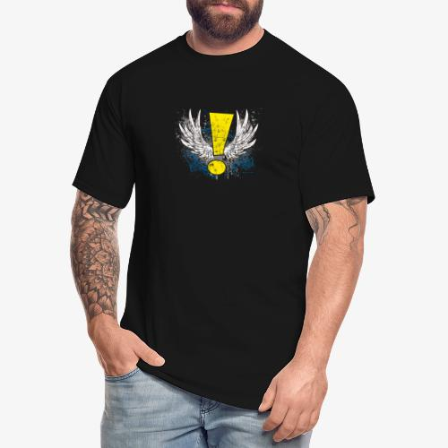 Winged Whee! Exclamation Point - Men's Tall T-Shirt