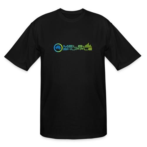 Melbshuffle Gradient Logo - Men's Tall T-Shirt