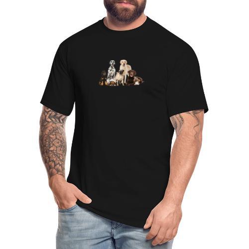 German shepherd puppy dog breed dog - Men's Tall T-Shirt