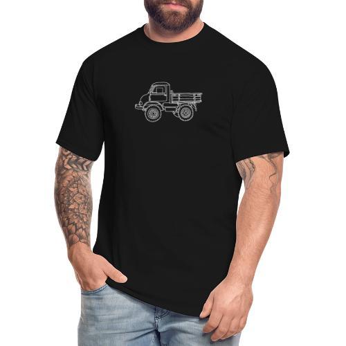 Off-road truck, transporter - Men's Tall T-Shirt