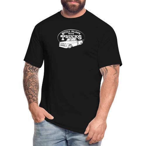 64 66BaggedC10LongStep WH - Men's Tall T-Shirt