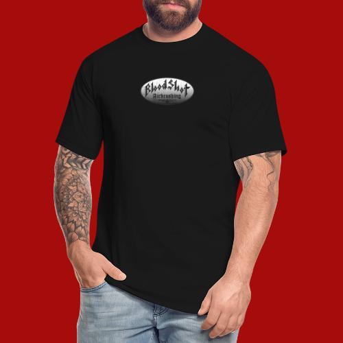 BloodShot Airbrushing Logo - Men's Tall T-Shirt