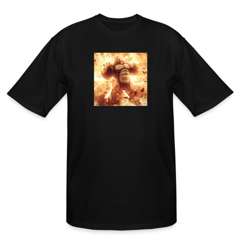 Angry Gorilla Explosion - Men's Tall T-Shirt