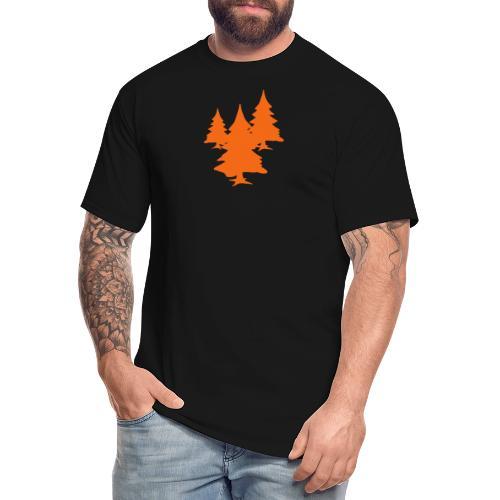 Tree Multicolour - Men's Tall T-Shirt