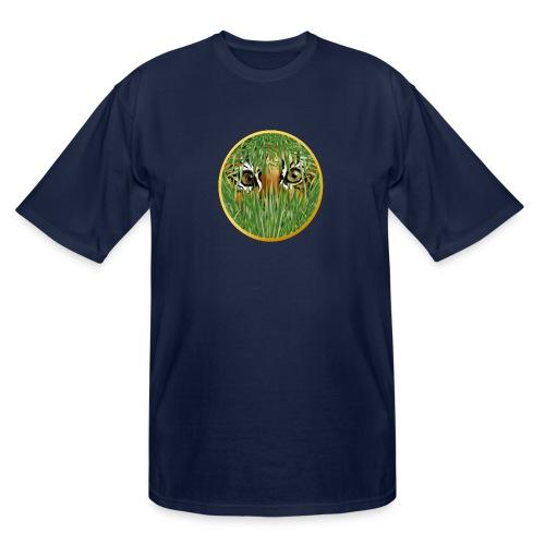 Tiger In The Grass - Men's Tall T-Shirt