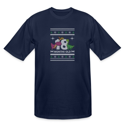 Christmas 18 months old - Men's Tall T-Shirt