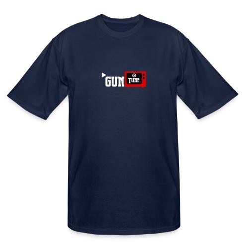 GunTube White - Men's Tall T-Shirt