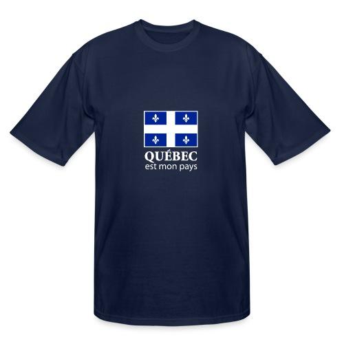 Québec est mon pays - Men's Tall T-Shirt