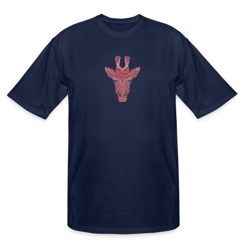 Giraffe Head - Men's Tall T-Shirt