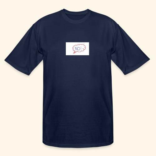 NO! - Grace Sakyi - Men's Tall T-Shirt