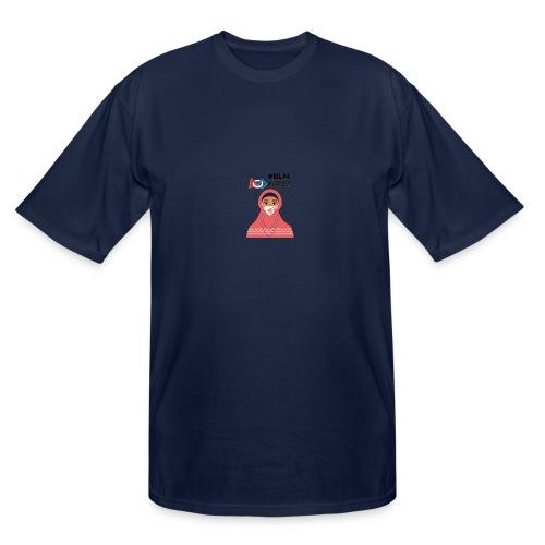 #BLM FIRST Muslim Woman BLM Supporter - Men's Tall T-Shirt