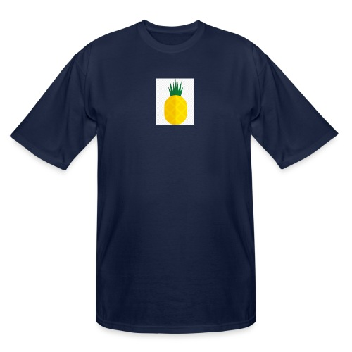 Pixel looking Pineapple - Men's Tall T-Shirt