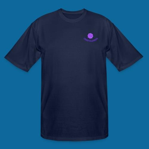 SR logo curved - Men's Tall T-Shirt