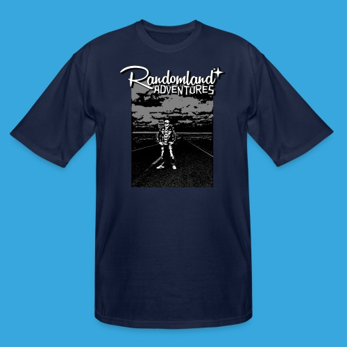 Randomland™ Road shirt - Men's Tall T-Shirt