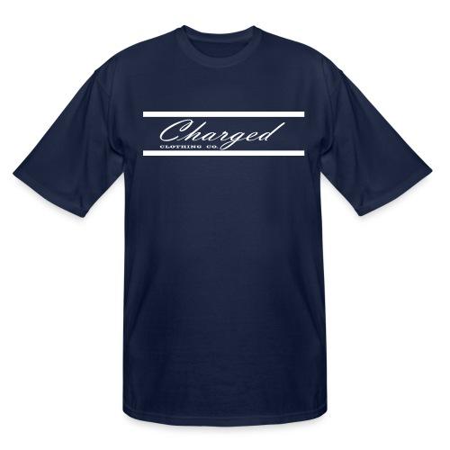 Charged L1ne WHT - Men's Tall T-Shirt