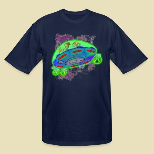 Ongher's UFO Flying Saucer - Men's Tall T-Shirt