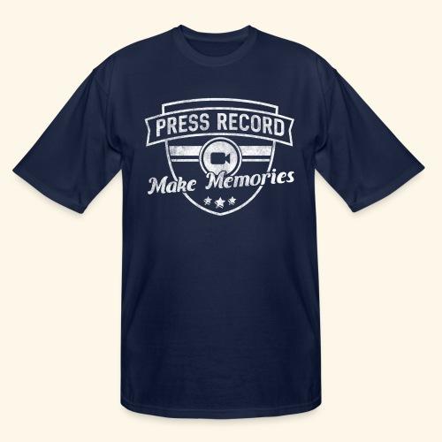 pressrecord_makememories2 - Men's Tall T-Shirt