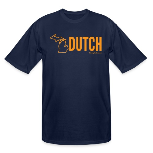 Michigan Dutch (orange) - Men's Tall T-Shirt