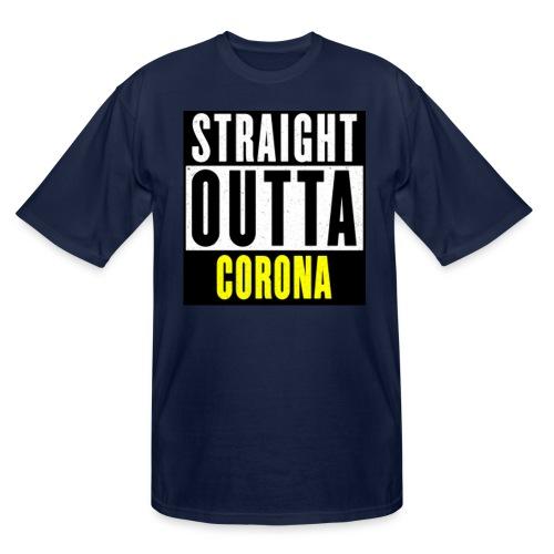 Straight Outta Corona - Men's Tall T-Shirt