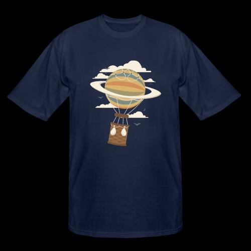 Air Baloon Saturn - Men's Tall T-Shirt