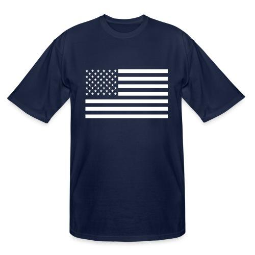USA American Flag - Men's Tall T-Shirt