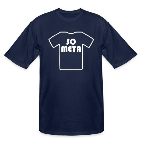 Meta Shirt on a Shirt - Men's Tall T-Shirt