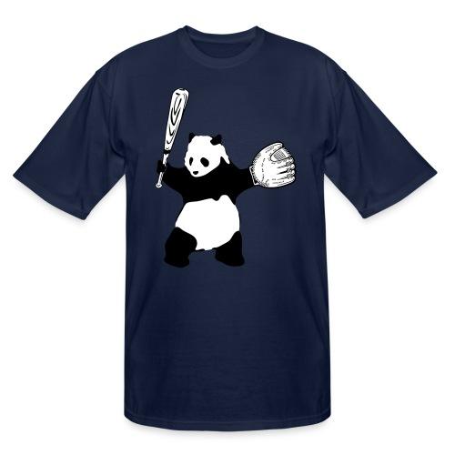 Panda Baseball - Men's Tall T-Shirt