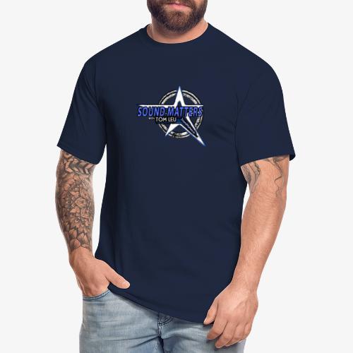 SOUND MATTERS Badge - Men's Tall T-Shirt