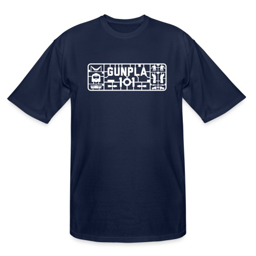 Gunpla 101 Men's T-shirt — Zeta Blue - Men's Tall T-Shirt