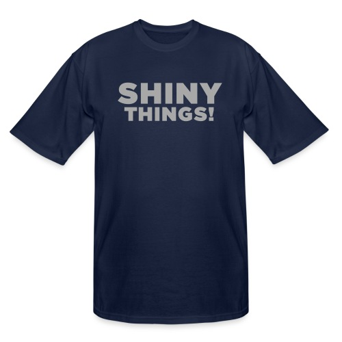 Shiny Things. Funny ADHD Quote - Men's Tall T-Shirt