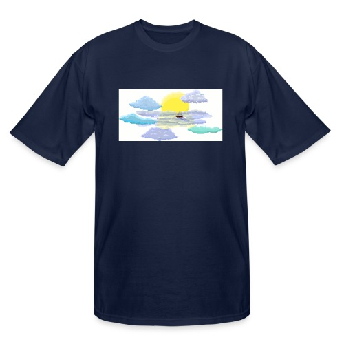 Sea of Clouds - Men's Tall T-Shirt