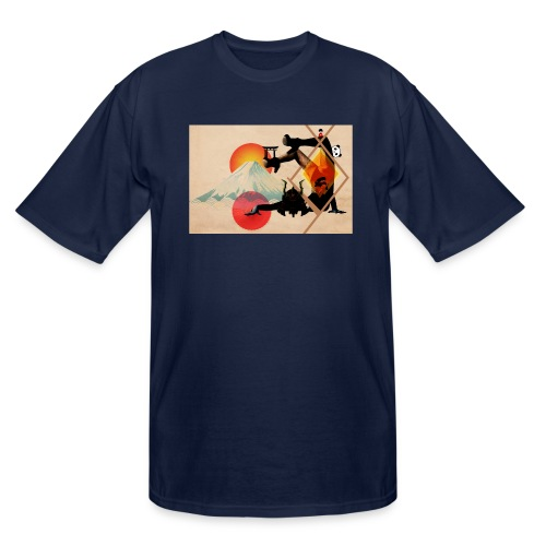Japaned - Men's Tall T-Shirt