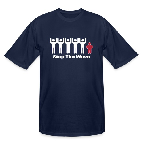 Men's Stop The Wave Logo T-Shirt - Men's Tall T-Shirt