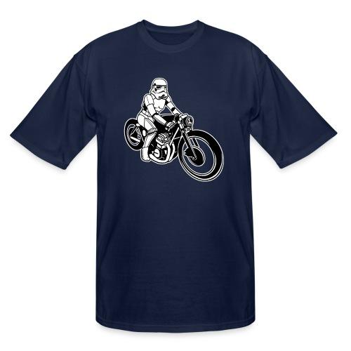 Stormtrooper Motorcycle - Men's Tall T-Shirt