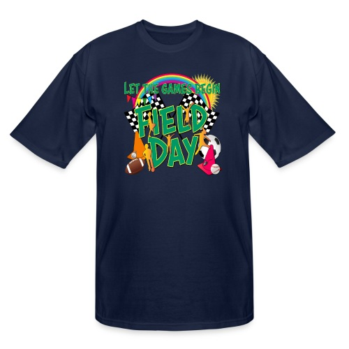 Field Day Games for SCHOOL - Men's Tall T-Shirt