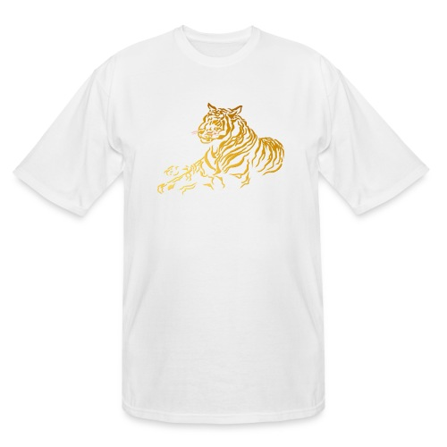Gold Tiger - Men's Tall T-Shirt