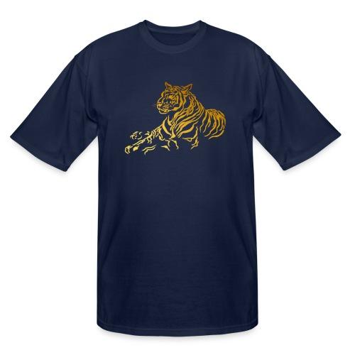 Gold Tiger - Men's Tall T-Shirt