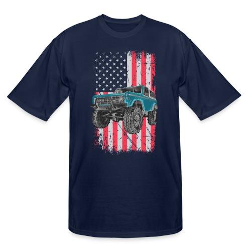 Bronco Drop the Hammer Truck Men's T-Shirt - Men's Tall T-Shirt