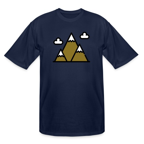 The Mountains - Men's Tall T-Shirt
