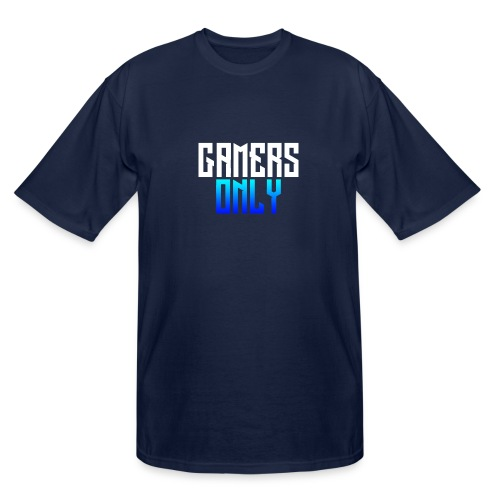 Gamers only - Men's Tall T-Shirt