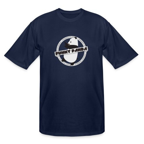 Funky Panda Logo - Men's Tall T-Shirt